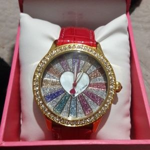 Betsey Johnson wrist watch